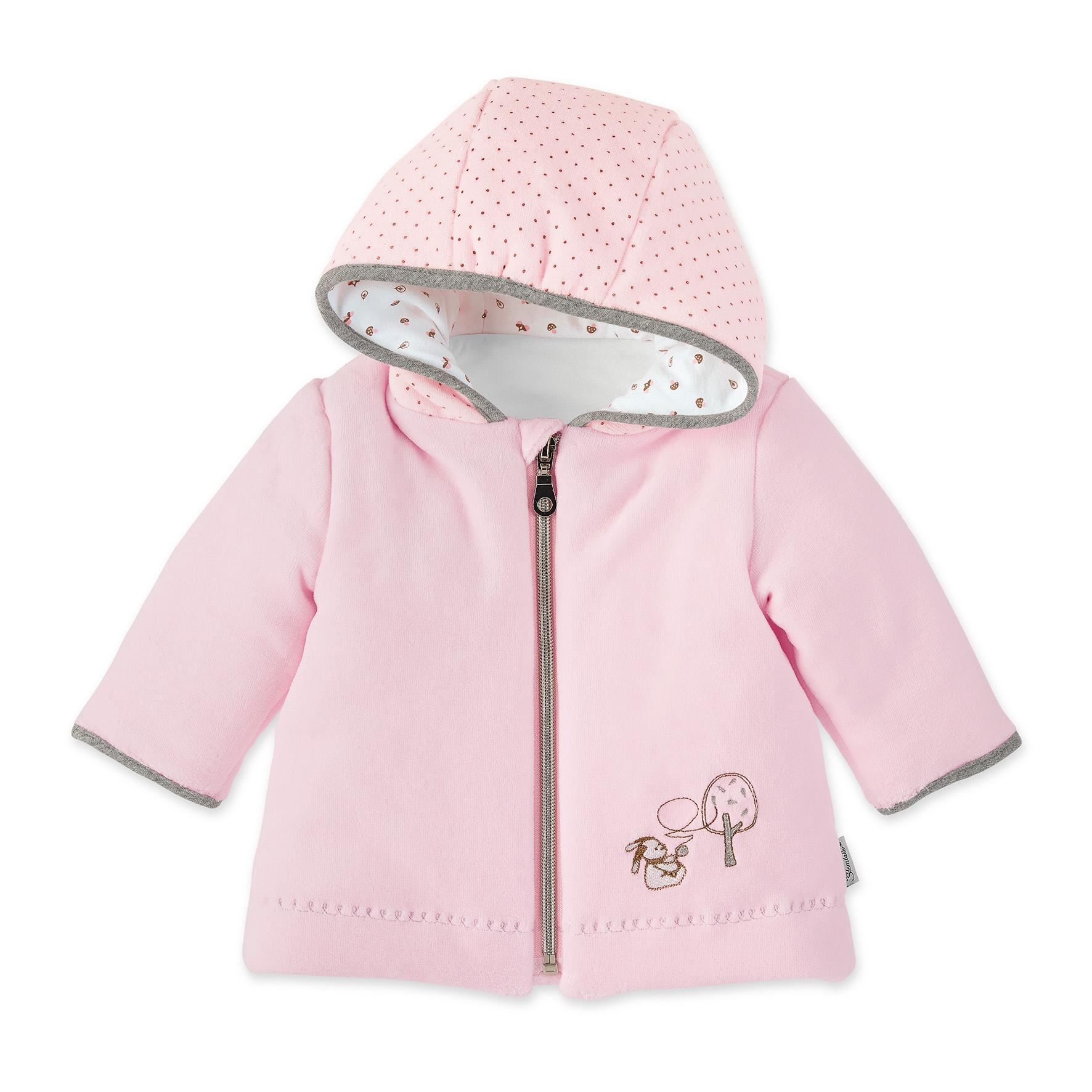 kabátek s kapucí samet koloušek Rosie empty cd57a67a1f
